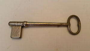 Vintage Large Metal Key Uncut