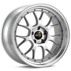 Bbs Lm R Silver With Polished Lip 19x9 5 38 5x112