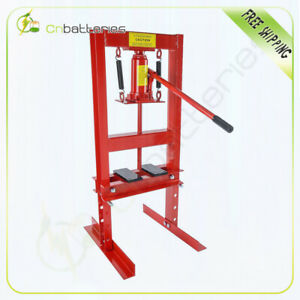 1 Set 6 Ton Shop Press Floor H Frame Press Plates Hydraulic Jack Stand Equipment