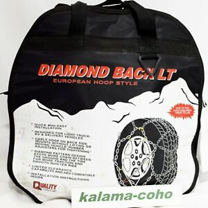 Diamond Back Lt Tire Snow Chains 2519q