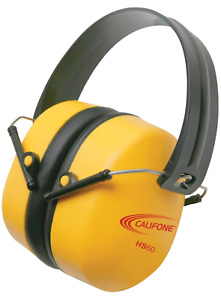 Hearing Protectors Bright Yellow Safety Color
