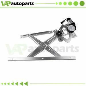 Power Window Regulator For Ford Excursion F250 F350 F750 Truck Front Lh W Motor
