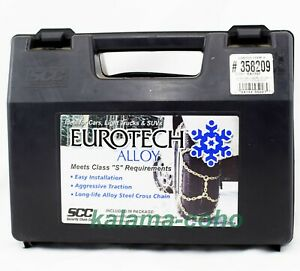 Eurotech Costco Tire Snow Chains 358209 Ea1707