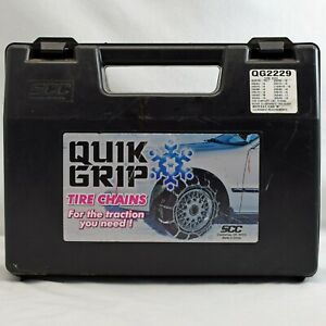 Quick Quik Grip Tire Snow Chains Qg2229