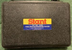Stant Sft 265 Fuel System Pressure Tester 12265 Sft265 Diagnostic Tool