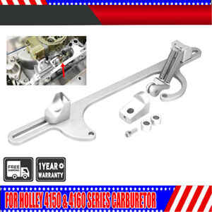 Aluminum Throttle Cable Bracket Fit For Holley Carburetor Siver 4150