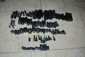 Snap On Huge 99 Pc Mixed Socket Lot 1 4 3 8 And 1 2