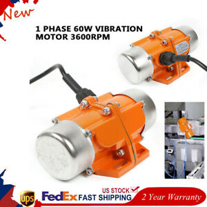 60w Vibration Motor Vibrating Asynchronous Vibrator For Electricity Construction