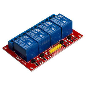 4 Channel 12v Relay Module For Pic Arm Avr Dsp
