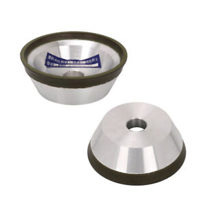 4 Inch Resin Diamond Grinding Wheel Cup For Carbide Cutter Grinder Tool 150 Grit