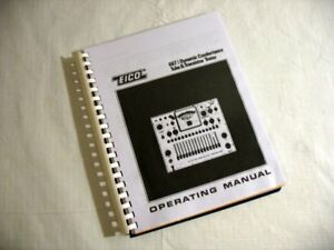 Eico 667 Tube Tester Manual W Charts Updates Choose Roll Or No Roll Style