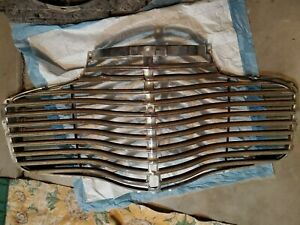 1941 Chevrolet Grill Off My Coupe Chevy Grill Original