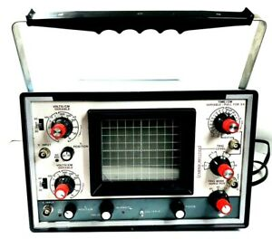 Heathkit Dual Trace Oscilloscope Model 10 4550