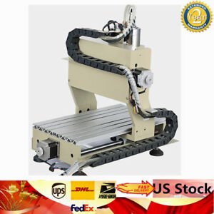 Usb 4 Axis 800w Engraver Drilling Machine Cnc 3020 Router 3d Metal Carve Cutter