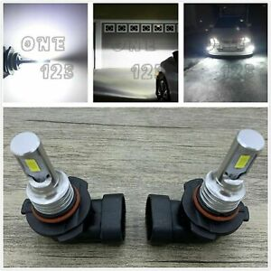 9005 Hb3 Cree Led Headlights Bulb Conversion Kit High Beam 6000k Super White 40w