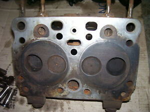 Vintage Ji Case 400 Diesel Tractor Engine Head A6320a