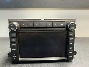 2009 2010 Ford F250sd F350sd Radio Am Fm Cd Display Receiver W Navigation