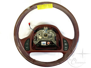 1995 Lincoln Continental Steering Wheel Currant f5oy3600b Nos