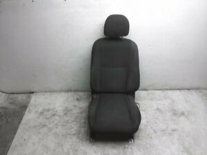 2014 Nissan Altima Front Driver Seat Black Cloth 87650 3ta5g Oem Power