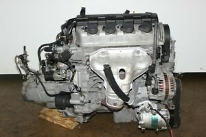01 02 03 04 05 Honda Civic 1 7l 4 Cyl Sohc Vtec Engine Manual Trans Jdm D17a