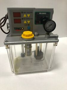 Trico Pe 3003 Automatic Lubrication Pump 3 Liter 100v 50 60 Great Condition