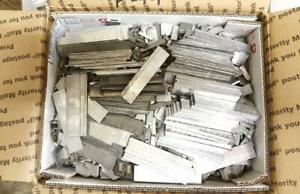 50 Letterpress Type Scrap Lead Lino Spaces Bullets Ammo Sinkers Foundry F74