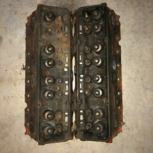 1969 Chevrolet Sbc Cylinder Head 3832441 F 18 9 E 28 9 1 94 Valves Good Cores
