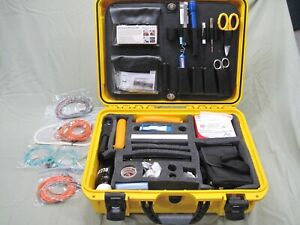 Fiber Optic Case W test Equipment