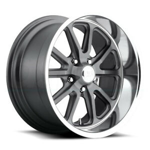 4 New 15 Us Mags Rambler U111 Wheels 15x7 5x4 5 1 Gunmetal Rims