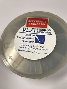 Vlsi Absolute Contamination Standards 2 100mm Silicon Wafer Acs4 2 02