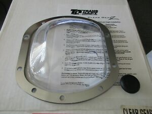 Clear Dana 30 Front Axle Differential Cover