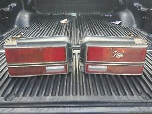 1981 Buick Regal 4dr Taillights