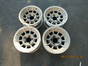 Chevy Corvette C 3 Aluminum Slotted Rims