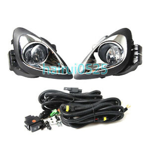 For 2013 2018 Nissan March micra Front Bumper Driving Fog Lamp Assembly 1set