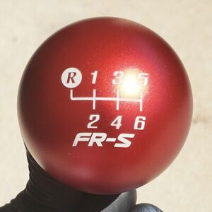 Shift Solutions Sr 190 Grams Matte Red Weighted Frs Engraved Shift Knob