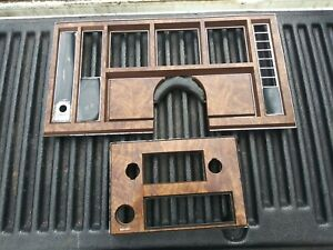 1981 Buick Regal 4dr Dash Bezel And Radio Bezel