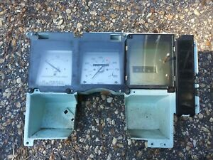 1981 Buick Regal 4dr Dash Cluster