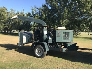 Woodchuck W c19 Chipper Commercial Disc Wood Brush Tree Forestry Chipper