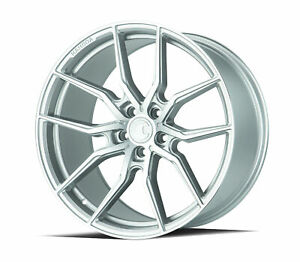 Set Of 4 20x10 5 Aodhan Aff1 5x114 3 45 Machined Face Rims