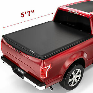 Oedro Roll Up Truck Bed Tonneau Cover Fit For 15 19 Ford F 150 Styleside 5 5ft