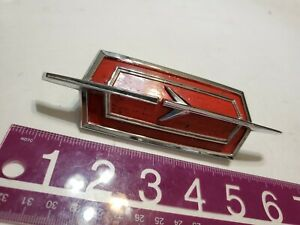 1974 Odsmobile Delta 88 Header Trim Emblem Ornament Oem 74 75