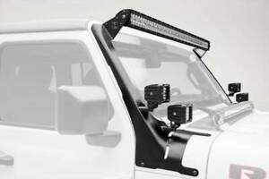 Zroadz 2019 2020 Fits Jeep Gladiator Front Roof Led Bracket Lights Not Included