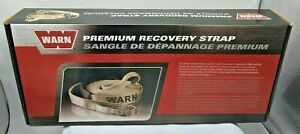 New Warn 88922 Premium Recovery Strap 2 X 30 14 400 Lb Rating