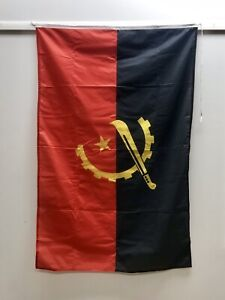 Salvaged Vintage Maritime Country Flag Angola
