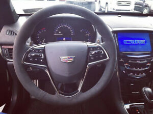 2015 2017 Cadillac Ats Cts Suede Alcantra Steering Wheel Genuine Gm