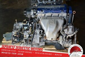 Jdm Honda Accord Sir t Engine F20b Bluetop 97 01 2 0l Vtec Engine Only 6