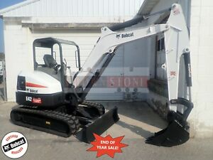 2016 Bobcat E42 Mini Excavator Orops Long Arm Aux Hydraulics 2spd X change
