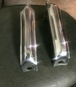 64 Chevelle Front Bumperettes Bumper Protector