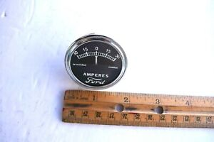 Model A Old Ford Instrument Panel Amp Meter Guage Dial Ford Script Logo 30 0 30