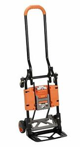 Steel Convertible Hand Truck Dolly Cart Folding Wagon Upright Moving Equipment